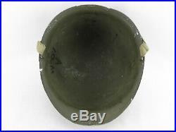 Casque lourd USM1 pontets fixes ORIGINAL US WWII WW2 39 45