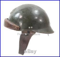 Casque modèle 35 infanterie motorisée Armée Française 1940 (matériel original)