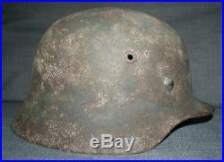 Casque original allemand WW2 M40 SZ62 #casque stahlhelm casco elmo il y a