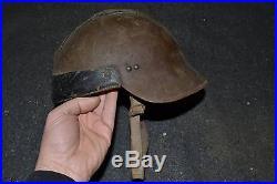 Casque pour équipage de blindé modèle 1926 drôle de guerre campagne 1940