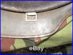 Casque soldat allemand mod 35 camouflé bétonné sable original ww2