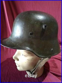 Casque stahlem 14/18 allemand ww1 helmet war