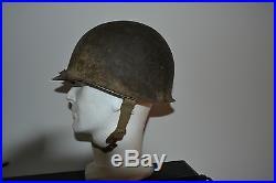 Casque us de la poche de colmar 1945