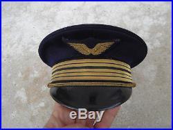 Casquette 1930 Colonel officier pilote armée de l'air Rabat Maroc