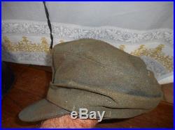 Casquette All Wh Mle 1943 Provient Du Secteur De La Chapelle En Juger 1944