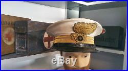 Casquette D'officier Bersaglieri Berretto Da Ufficiale Regio Esercito Ww2 Wk2