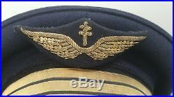 Casquette FAFL pilote armée de l'air 39 45
