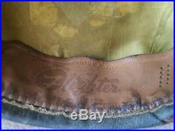 Casquette crusher Flighter officier US Air force coiffe brune 100 %ORIGINALE WW2