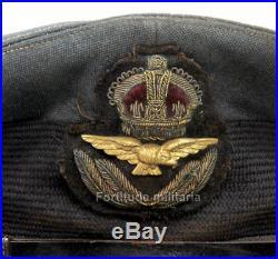 Casquette de la Royal Air Force British ARMY RAF WW2 (matériel original)