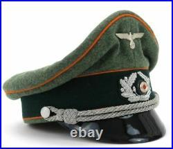 Casquette officier FELDGENDARMERIE Wehrmacht WW2 REPRO Seconde Guerre Mondiale