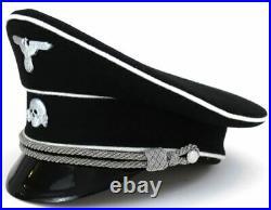 Casquette officier Reichsführer-SS WW2 Réplique Seconde Guerre Mondiale