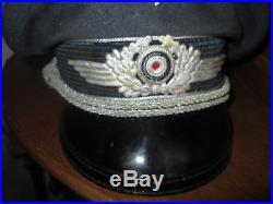 Casquette officier luftwaffe para pas casque allemand - Schirmmütze