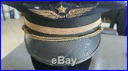 Casquette pilote aviation armée de l'air 39 45