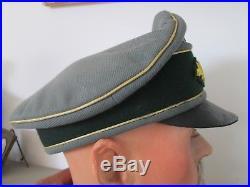 Casquette souple schirmmütze officier général allemand ww2 pas casque