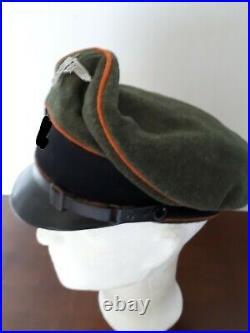 Casquette troupe feldgendarmerie, allemagne, 2ème guerre mondiale