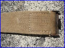 Ceinturon allemand toile daté 1943 afrika korps tropical AK WH luft ww2 landser