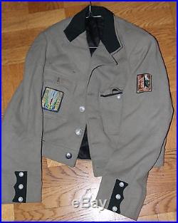 Chantier de jeunesse veste d'officier chantier 40 ARVERNES