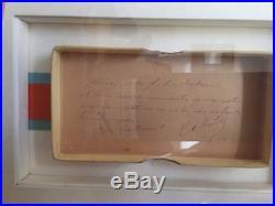 Charles De Gaulle / Document Autographe Signé / Médaille Du Mérite Social (1950)