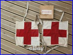 Chasuble infirmier allemand WW2 sanitäter gruschwitz DRK Schwesternschaft