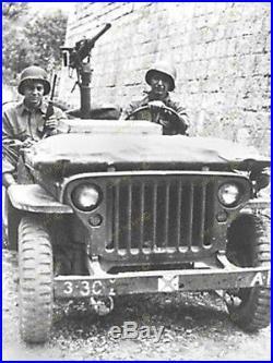 Colonne Centrale M31c Jeep Cal. 30 /. 50 + Renforts
