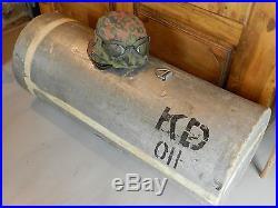 Container parachutage US ww2 FFI, résistant maquisar sans le casque