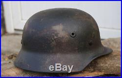 Coque de casque allemand Mod. 40 camo 2 tons