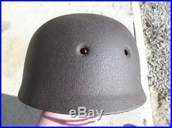 Coque de casque parachutiste allemand originale
