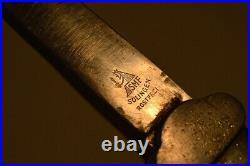 Couteau à gravité original de parachutistes de la Luftwaffe, 2GM