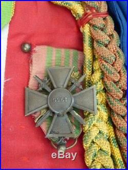 Cravatte de drapeau RICM 1939-1945