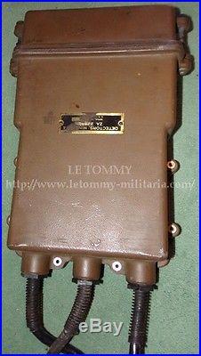 Détecteur de mine N°4 A COMPLET en caisse GB WW2 anglais