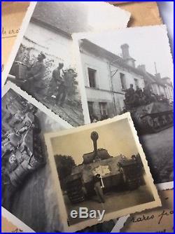 Docs photos Libération Paris 2ème DB FFI résistance Panther Sherman Tchad