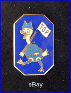 Donald Walt Disney Transmission compagnie Telegraphiste 1/82 de la 1ér D I M