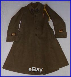 Ensemble vareuse manteau officier 151ème RI Régiment dInfanterie français WW2