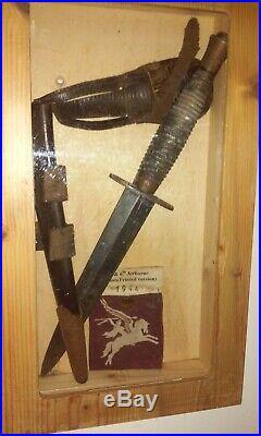 Équipement du soldat anglais fairbain & S type 3 WW2