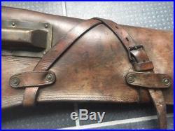 Étui cuir fusil US fusil Garand ou USM1, cavalerie ww2 39/45 original
