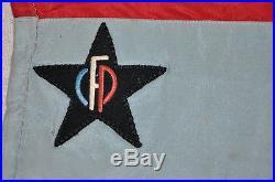 FFI-MAQUIS-RESISTANCE 3° Régiment hussards / corps-franc POMMIES fanion 1939