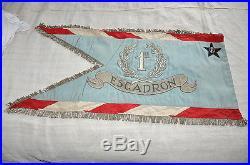 FFI Maquis Résistance Corps-franc POMMIES fanion 1939 3° hussards 1° Esc