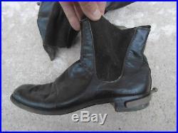 FRANCE 1940 Chaussures de Sortie Cérémonie Modele 1931 Cavalerie