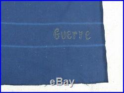 FRANCE 1940 Couverture Bleue de Selle de Cavalerie Guerre 1938