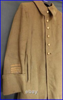 FRANCE GUERRE 1939 -1940 MANTEAU OFFICIER MONTEref L12