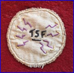 Fanion Ccb2 Du 7° Regiment De Tirailleurs Algeriens