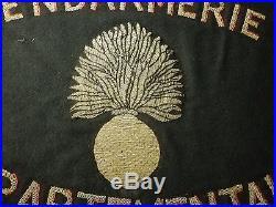 Fanion drapeau Gendarmerie Constantine Algérie colonies indochine 39-45 14-18