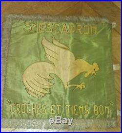 Fanion rca chasseur d afrique libe liberation 1945