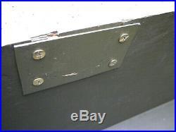 Foot Locker cantine US WWII WW2 effet GI's JEEP DODGE GMC small wall camp
