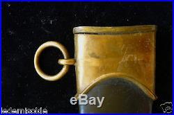 Fourreau Marine 1933 Unités canots a moteur Allemagne WW II Noir et doré