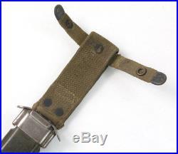 Fourreau USM8 premier modèle! US ARMY WW2 (matériel original)