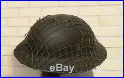 GB Canada ww2 Casque MKII daté 1942 Tommy Dieppe Normandie Juno Veste dday FFL
