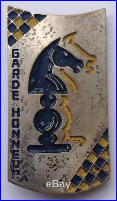 Garde d'Honneur Gal Weygand 5° R. C. A. Grazziani Alger Cavalerie Afrique