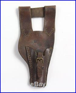Gousset en cuir pour baïonnette Française WW1 WW2 (matériel original)