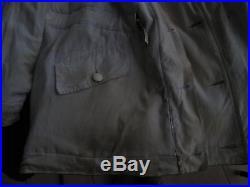 Grenier Parka blouse veste allemande grise et blanche WW2 pas casque Wendejacke
